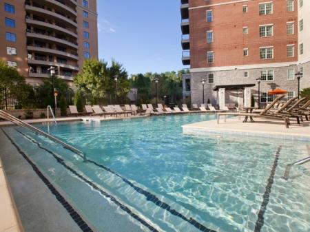 The Rocca Buckhead Apartments Pool Area