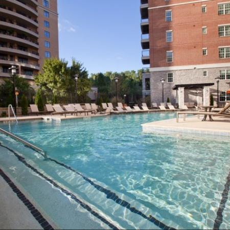 The Rocca Buckhead Apartments Pool Area