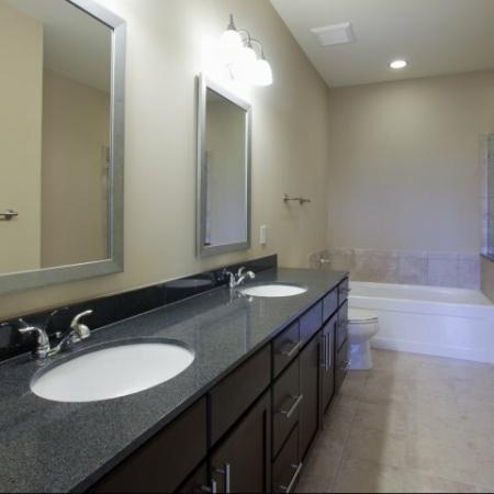 The Rocca Buckhead Apartments Large Bathroom