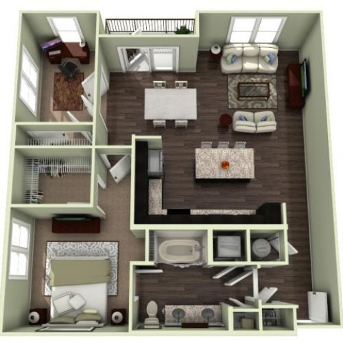 Floor Plan 10 | LaVie SouthPark