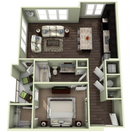 Floor Plan 4 | LaVie SouthPark