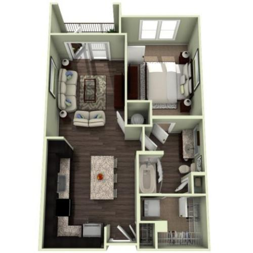 Floor Plan 3 | LaVie SouthPark