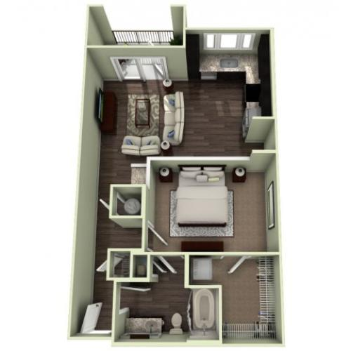 Floor Plan 7 | LaVie SouthPark
