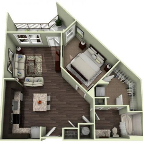 Floor Plan 5 | LaVie SouthPark