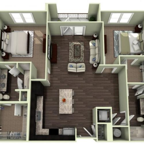 Floor Plan 16 | LaVie SouthPark