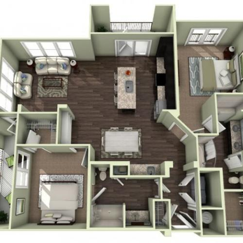 Floor Plan 21 | LaVie SouthPark