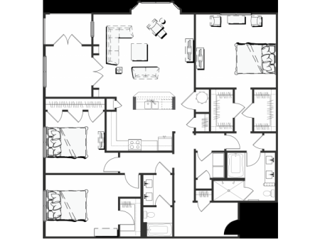 Floor Plan 9 | The Rocca