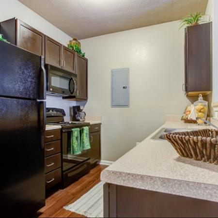 Spacious Kitchens in our Big Oaks Apartments in Lakeland FL