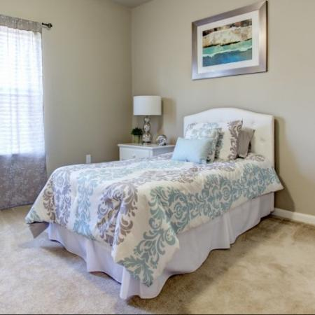 Spacious bedrooms in Big Oaks Apartments in Lakeland FL