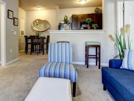 Comfortable living space in our Big Oaks Apartments in Lakeland FL