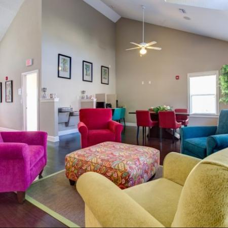 Comfortable living rooms at our Big Oaks Apartments in Lakeland FL