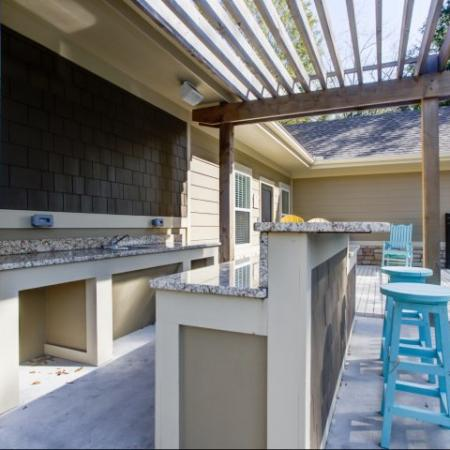 Outdoor Grill in our Big Oaks Apartments in Lakeland FL
