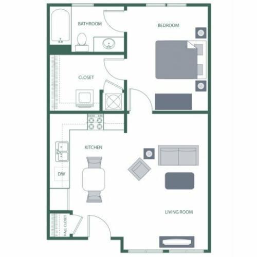 Floor Plan | 2100 Acklen Flats