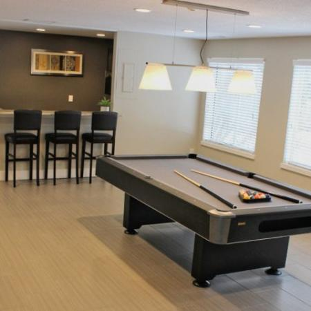 Resident Game Room | Apartments in Lowell, MA | Cabot Crossing Apartments