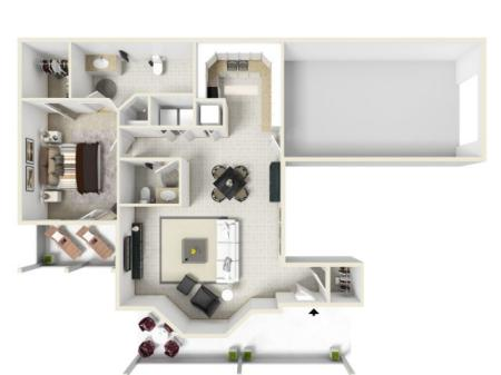 Floorplan C Upstairs
