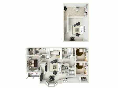Floorplan F w/Loft
