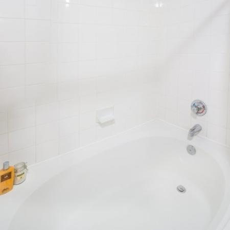 Spacious Master Bathroom | Apartments Homes for rent in Dallas, TX | 5225 Maple Avenue Apartments