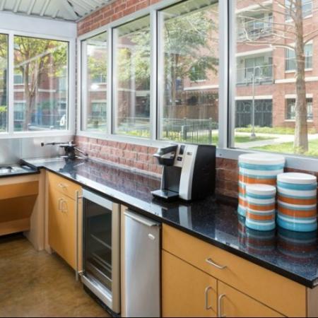 Resident Coffee Bar | Apartments in Dallas, TX | 5225 Maple Avenue Apartments