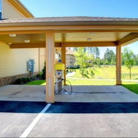 Carwash Longleaf Pines Apartments in Mobile