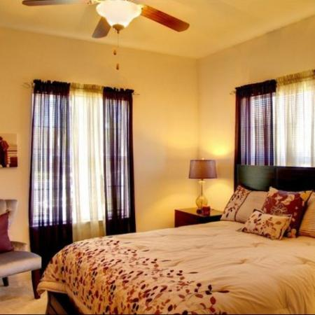 Bedroom Longleaf Pines Apartments in Mobile