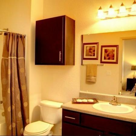 Bathroom Longleaf Pines Apartments in Mobile
