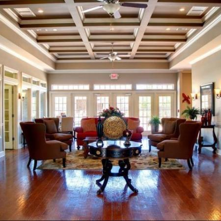 Clubhouse Longleaf Pines Apartments in Mobile