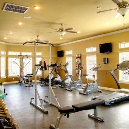 Fitness Center Longleaf Pines Apartments in Mobile