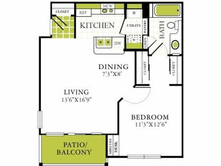 Grapevine Twenty Four 99 - Apartments Grapevine Texas For Rent One Bedroom