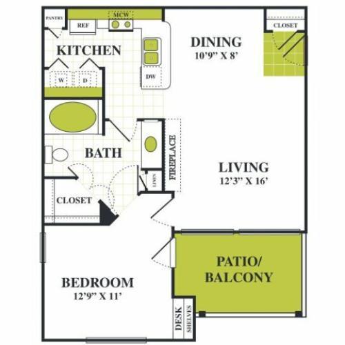 Grapevine Twenty Four 99 - Apartments for Rent One Bedroom Grapevine Texas