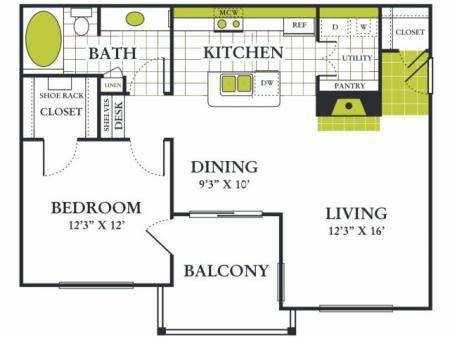Grapevine Twenty Four 99 - Apartments for Rent Grapevine Texas One Bedroom