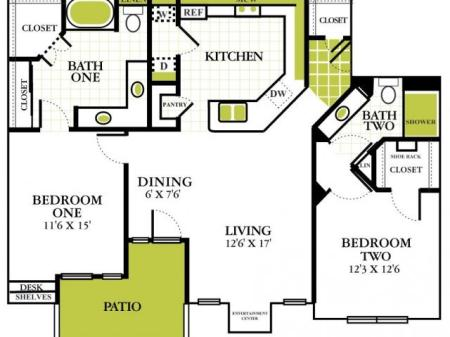Grapevine Twenty Four 99 - Apartments Grapevine Texas For Rent Two Bedroom Apartments