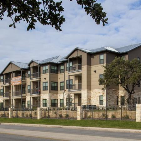 Exterior pet friendly gated community