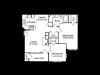 Two Bedroom Floorplan | Cherry Creek 2