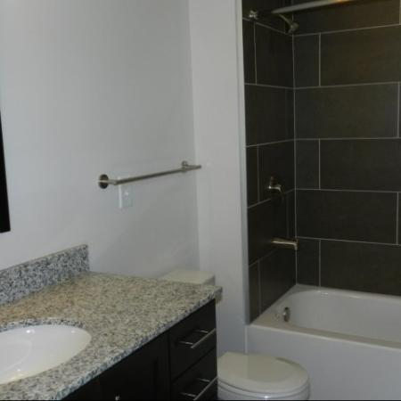 Luxurious Bathroom | Studio Apartment Nashville | 2100 Acklen Flats