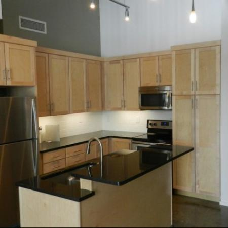 Elegant Kitchen | Studio Apartments Nashville | 2100 Acklen Flats