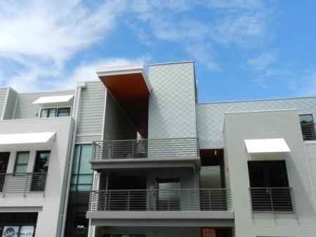 Spacious Apartment Balcony | One Bedroom Apartments In Nashville TN | 2100 Acklen Flats