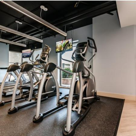 Resident Fitness Center | Apartments Arlington Heights, IL | Hancock Square at Arlington Station