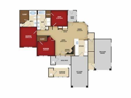 Three Bedroom C - Renovated