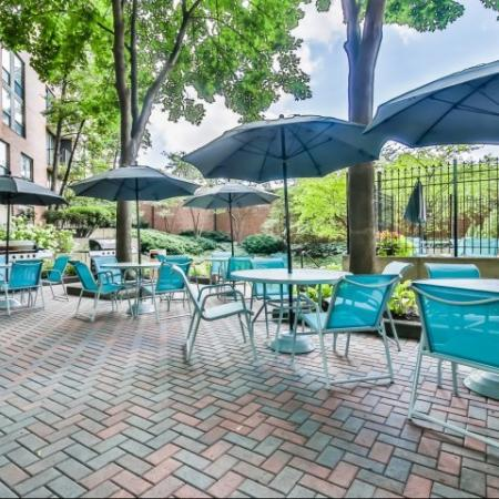 Resident Sun Deck | Arlington Heights IL Apartment For Rent | Hancock Square at Arlington Station