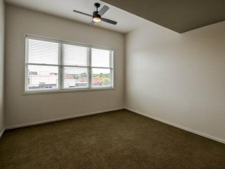 Spacious Bedroom | Nashville Studio Apartments | 2100 Acklen Flats