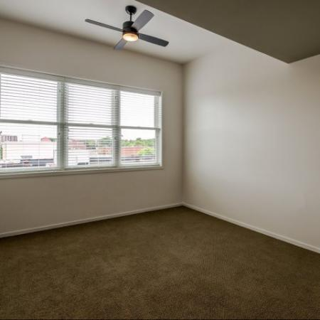 Spacious Bedroom | Nashville Studio Apartments | 2100 Acklen Flats
