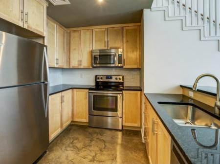 State-of-the-Art Kitchen | Nashville Studio Apartments | 2100 Acklen Flats