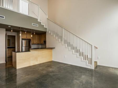 Spacious Living Room | Studio Apartments Nashville | 2100 Acklen Flats