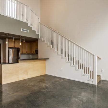 Spacious Living Room | Studio Apartments Nashville | 2100 Acklen Flats