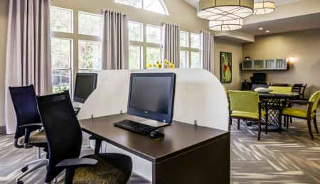 Resident Business Center | Wheaton IL Apartment For Rent | Crossings at Danada
