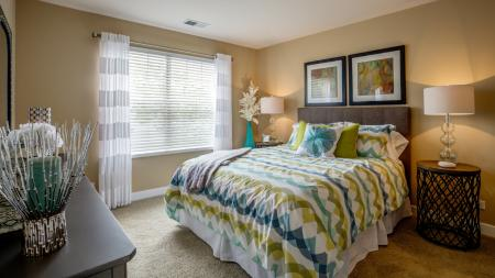 Spacious Master Bedroom | Apartments Homes for rent in Wheaton, IL | Crossings at Danada