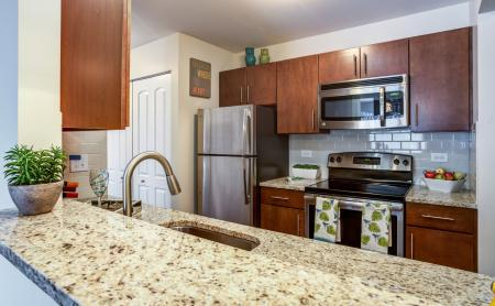 State-of-the-Art Kitchen | Wheaton IL Apartment Homes | Crossings at Danada