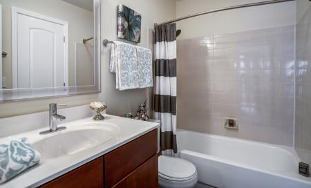 Spacious Master Bathroom | Apartments Homes for rent in Wheaton, IL | Crossings at Danada