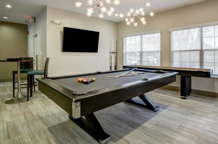 Resident Game Room | Apartments in Wheaton, IL | Crossings at Danada