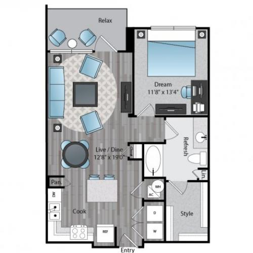 Apartments for Rent Dallas Texas | One Bedroom | The Armstrong at Knox Apartments